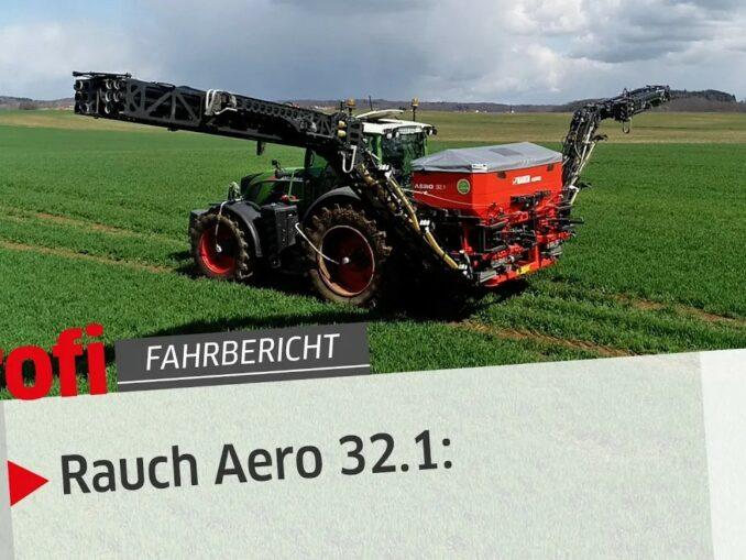 profi Fahrbericht - Rauch Aero 32.1
